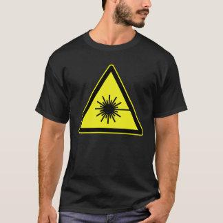 レーザー放射 Tシャツ