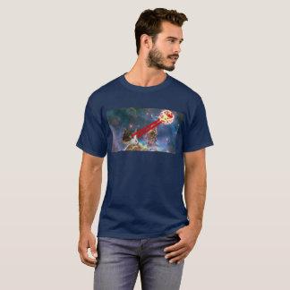 レーザー猫のTシャツ Tシャツ