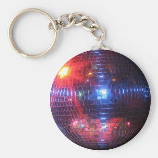 レーザ光線が付いているディスコの球 キーホルダー