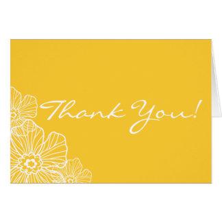 レースのような花柄はメッセージカード感謝していしています ノートカード