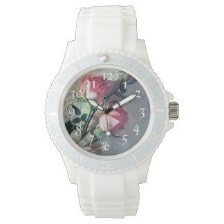レースのギフトを結婚しているバラ 腕時計