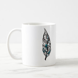 レースの羽 コーヒーマグカップ