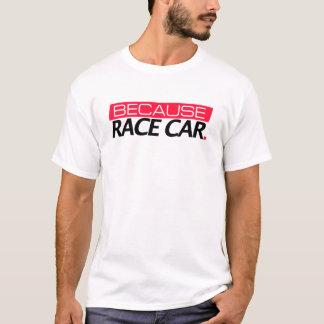 レースカーのワイシャツので Tシャツ