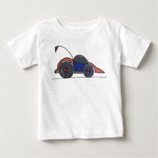 レースカーのTシャツ ベビーTシャツ