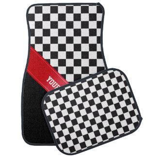 レースカーパターン + あなたのbackgr。 色及び文字 カーマット