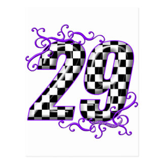 レースカー第29 ポストカード