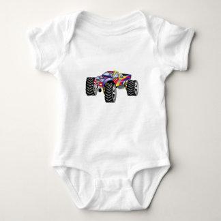 レースカー ベビーボディスーツ