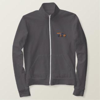 レースカー 刺繍入りジャケット