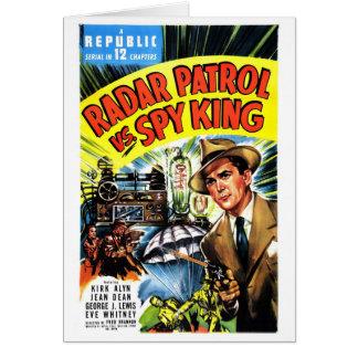 レーダーのパトロール対スパイ王 カード