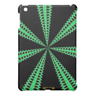レーダー緑パターングラフィック・デザインのデジタルデザイン iPad MINIケース