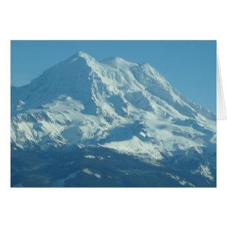 レーニア山の新しい降雪 カード