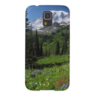 レーニア山の野生の花 GALAXY S5 ケース