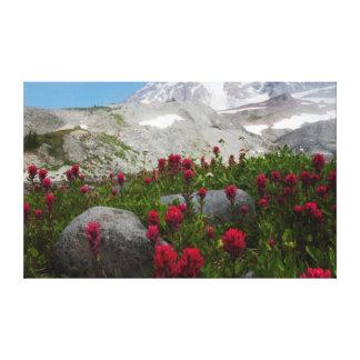 レーニア山国立公園、レーニア山1 キャンバスプリント