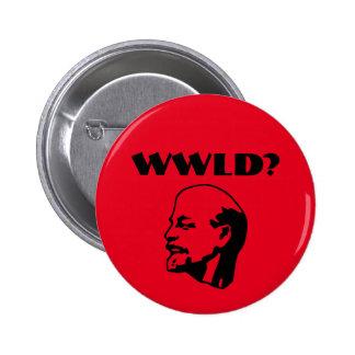 レーニンは何をしますか。 ボタン 5.7CM 丸型バッジ