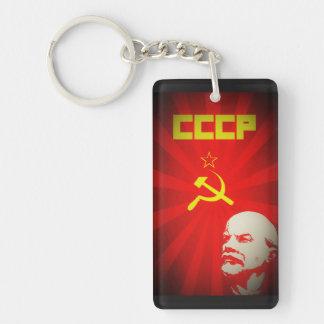 レーニンロシアのソビエト共産主義のプロパガンダのヴィンテージf キーホルダー