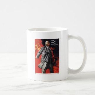 レーニン-ロシアのな共産主義者 コーヒーマグカップ