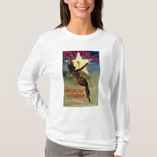 レーヨンD'Orのレストランの昇進ポスター Tシャツ