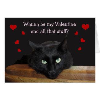 """レーンジャー""""挨拶状私のバレンタイン""""がありたいと思って下さい カード"""