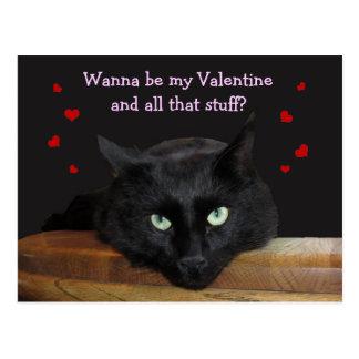 """レーンジャー""""郵便はがき私のバレンタイン""""がありたいと思って下さい ポストカード"""
