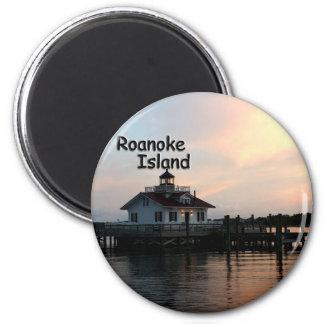 ロアノークの島の灯台 マグネット