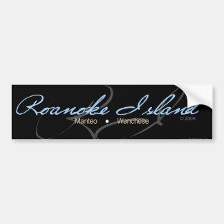 ロアノークの島 バンパーステッカー