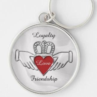 ロイヤリティ愛友情のCladdaghのキーホルダー キーホルダー
