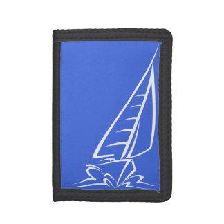 ロイヤルブルーおよび白の航行; 帆ボート