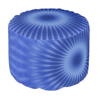ロイヤルブルーのかわいらしい光線 + あなたのアイディア プーフ