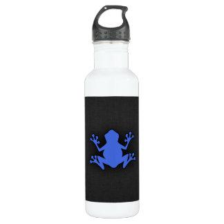 ロイヤルブルーのカエル ウォーターボトル