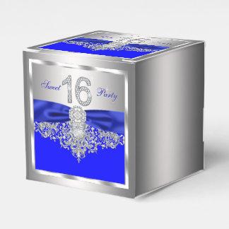 ロイヤルブルーのダイヤモンドの菓子16 フェイバーボックス