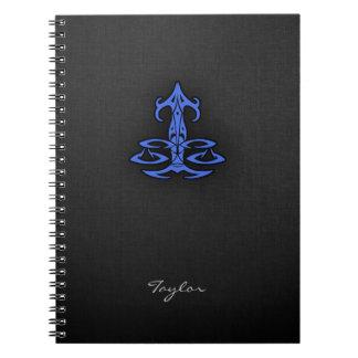 ロイヤルブルーの天秤座 ノートブック