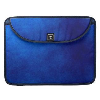 ロイヤルブルーの水彩画の抽象美術のMacbookの袖 MacBook Proスリーブ