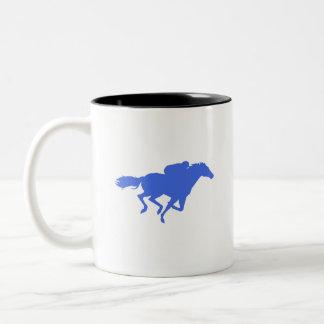 ロイヤルブルーの競馬 ツートーンマグカップ