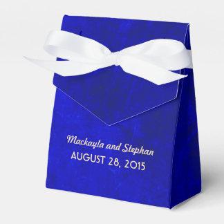 ロイヤルブルーの結婚式 フェイバーボックス