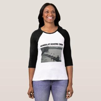 ロウイングの乗組員のTシャツの女性のキリスト教の聖なる書物、経典 Tシャツ