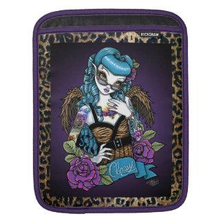 ロカビリーのベビーの入れ墨のヒョウの天使のIPadの袖 iPadスリーブ