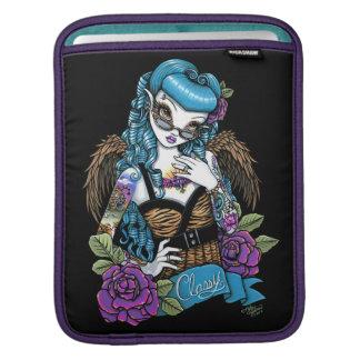 ロカビリーのベビーの入れ墨の天使のIPadの袖 iPadスリーブ