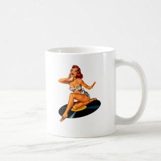 ロカビリーの女神 コーヒーマグカップ