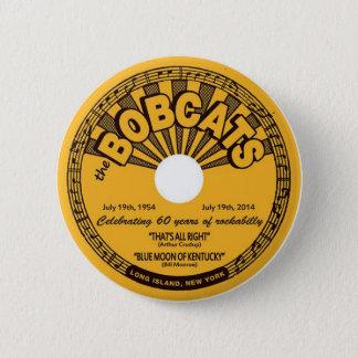 ロカビリーボタンの第60記念日 5.7CM 丸型バッジ