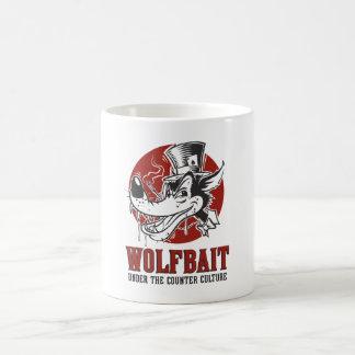 ロカビリー/Psychobilly Wolfbaitのアートワーク コーヒーマグカップ