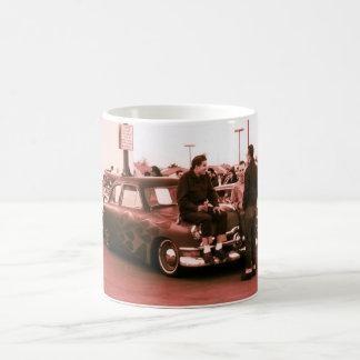 ロカビリーHotrodders コーヒーマグカップ