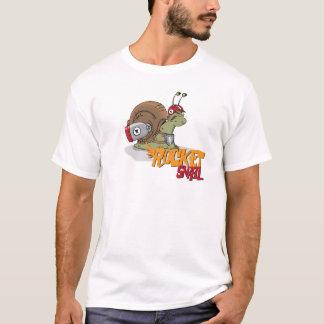 ロケットのかたつむり Tシャツ
