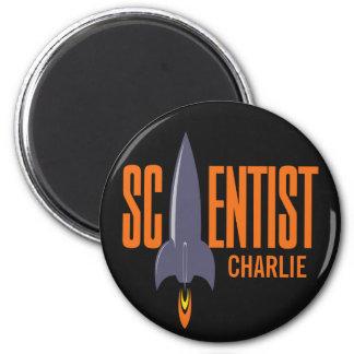 ロケットの科学者の名前をカスタムするの磁石 マグネット
