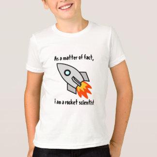 ロケットの科学者 Tシャツ