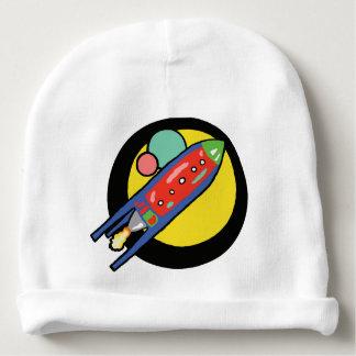 ロケットの船のベビーのウサギの皮の帽子 ベビービーニー