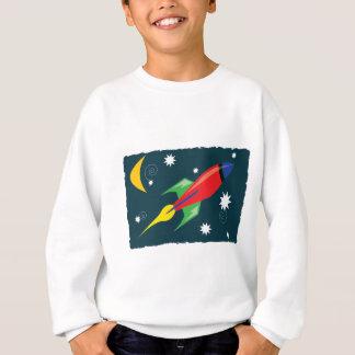 ロケットの船 スウェットシャツ