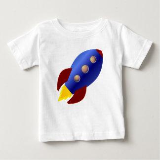 ロケットの船 ベビーTシャツ