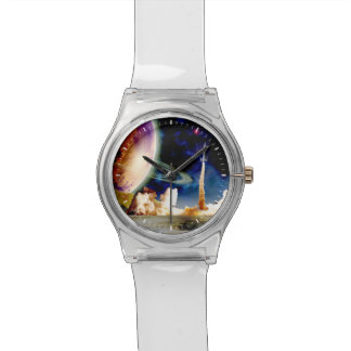 ロケットの進水 腕時計