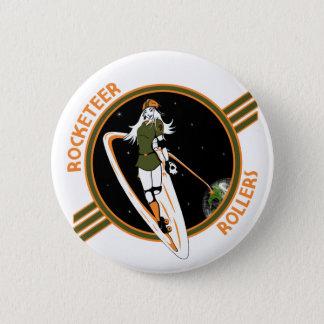 ロケット手のローラーボタン 缶バッジ