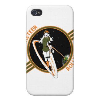 ロケット手のローラーiPhone4の箱 iPhone 4/4Sケース